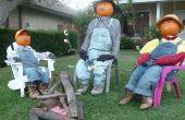 Pompoen mensen van Zuid-Californië