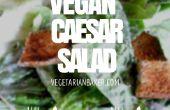 Hoe maak je veganistisch Caesarsalade