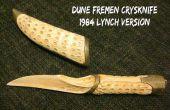 Lynch's Dune Fremen Crysknife en schede