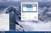 Het wijzigen van de thema van de PC (Windows XP)