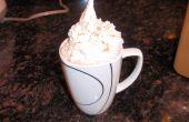 """Warme chocolademelk van de """"Milky Way"""""""