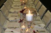 Hoe u kunt instellen op een bruiloft receptie in 5 gemakkelijke stappen