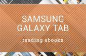 Hoe lees ik IBooks met Samsung Galaxy Tab