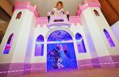 Bouw een mooie prinses kasteel Bed van uw kind zal de liefde