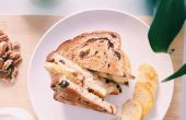RECEPT | BRIE-kaas & APPLE SANDWICH