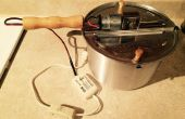 Gemotoriseerde koffie Roaster van popcorn maker