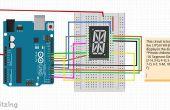 Bericht op een alfanumerieke Display| Arduino
