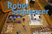 Robotic muziekspeler en Sequencer met LittleBits AKA Fruityloops IRL