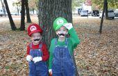 Mario Bros. kostuums met geluidseffecten