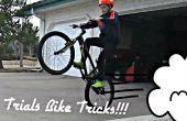 Proeven fiets trucs