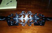 3D-gedrukte Dual Laser Ornamental IJzer Yard decoratie