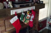 DIY: Christmas Stocking houder