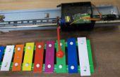 Automatische bekkens van oude printer