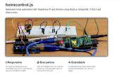 Home automation met knooppunt js, raspberry pi en heimcontrol