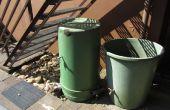 Herstellen van scheuren in een regenwater tank met sugru