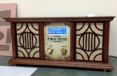 """Een """"Antieke Radio"""" kerst aanwezig"""