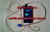 Hoe te laden van een mobiele telefoon zonder lader