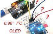 """Het eerste gebruik van 0.96"""" I2C OLED-display met Arduino UNO"""
