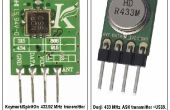 433 MHz UHF verloren model radio baken