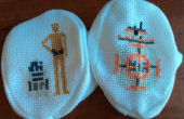 Star Wars Cross Stitch: Droid laarsjes