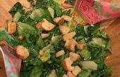 Hoe maak je een zelfgemaakte Caesarsalade