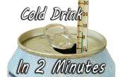 Koelen van een drankje In 2 minuten