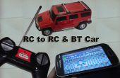 Gemakkelijke houwer RC naar RC & BT auto met behulp van Linkit One