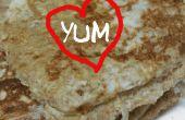Heerlijke hart vormige Franse Toast