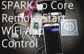 Spark Core activeert een externe auto Starter via WiFi