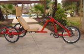 Aangepaste elektrische Trike - is het voor de honden.