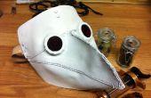 Hoe maak je een lederen pest dokter masker