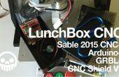 Sable 2015 CNC Arduino + GRBL = LunchBox CNC