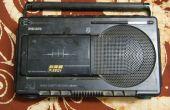 Een Line-In aansluiten van een oude Philips Radio Cassette Recorder - (typenummer DR193)