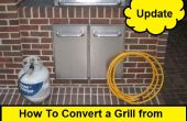 Hoe te converteren een Grill van propaan naar aardgas (Update)