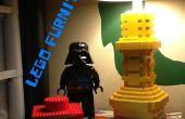 Lego Lamp, lade, achtbaan en tafelblad werken.