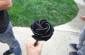 Hoe maak je een roos van metaal
