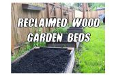 Tuin bedden (en meer!) uit teruggewonnen hout opgewekt