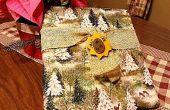 Kerst Advent boek (geen naaien) gedekt