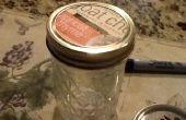 Gemakkelijk bal Jar Makeover / eenvoudige munt Bank