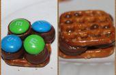 Chocolade krakeling cookies - een zeer eenvoudige vreugde