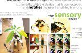 """Sensorische apparaat voor """"de Plant dokter - Plant Care instrumenten"""""""