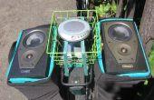 """DIY """"Street Party fiets Stereo"""" iedereen gemakkelijk met minimale tools bouwen kan"""