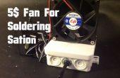 5$ ventilator voor Soldering Station