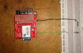 Beheersing van een LED met arduino en Wifly schild