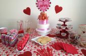 Valentine's Day partij tabel idee
