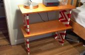 Lego & hout bed tabel