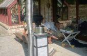 Rocket stove massa kachel met zeep stenen tegels