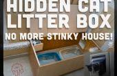 Hoe te verbergen een stinkende kat doos