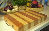 Het maken van een einde-korrel snijplank - ik maakte het op Techshop