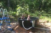 Redneck openlucht bad